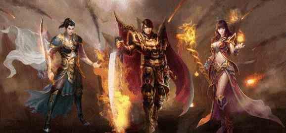 热血传奇sf的游戏达人分享火龙洞穴的攻略 热血传奇sf 第2张